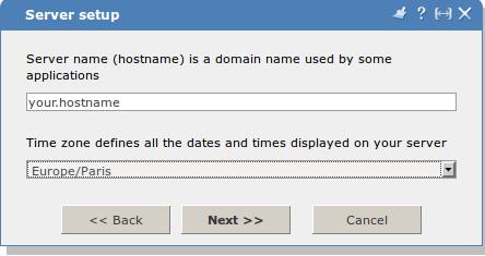 Настройка ISPmanager