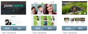 сайт сделанный на Wordpress